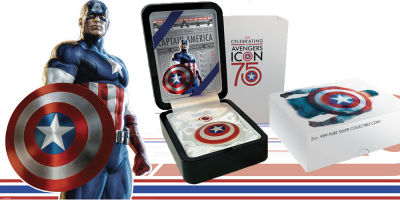 75 Years of Captain America Coin